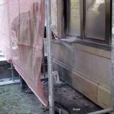 Renowacja powierzchni z piaskowca
