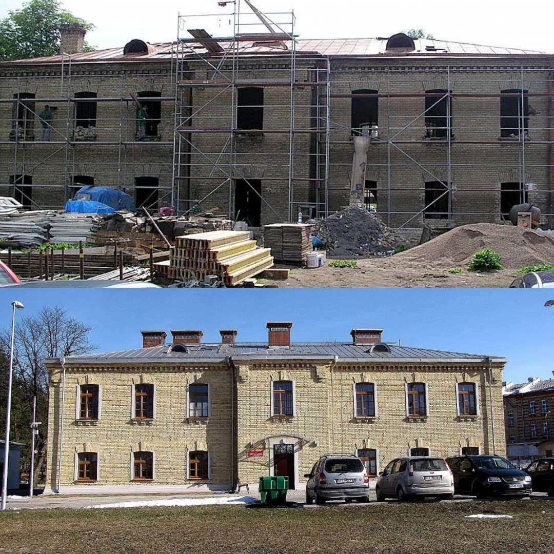 Renowacja elewacji zabytkowych